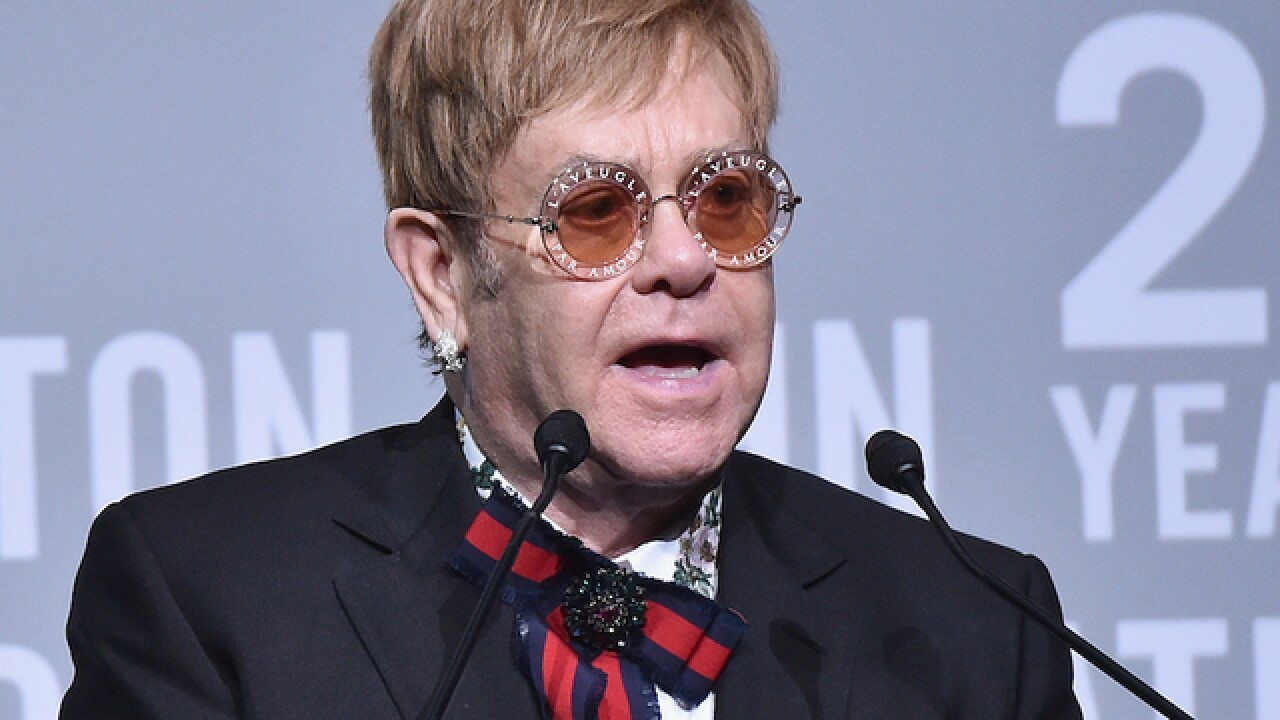 Elton John announces plans for global farewell tour