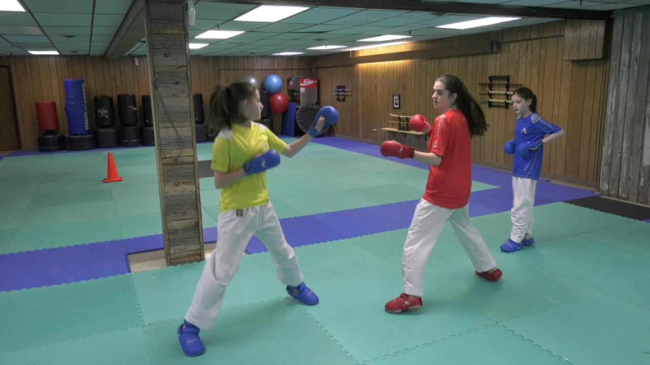Singleton Sisters Karate