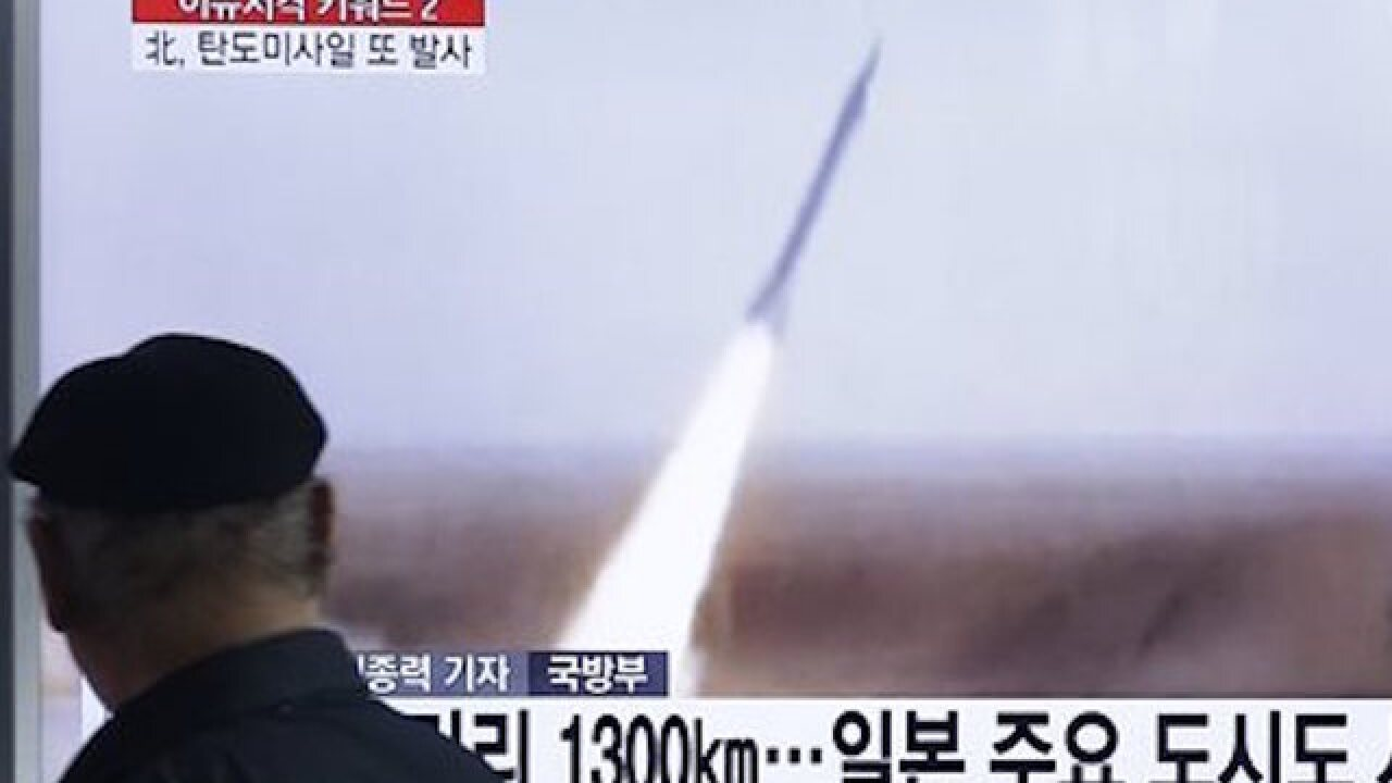 North Korea launches of long-range rocket