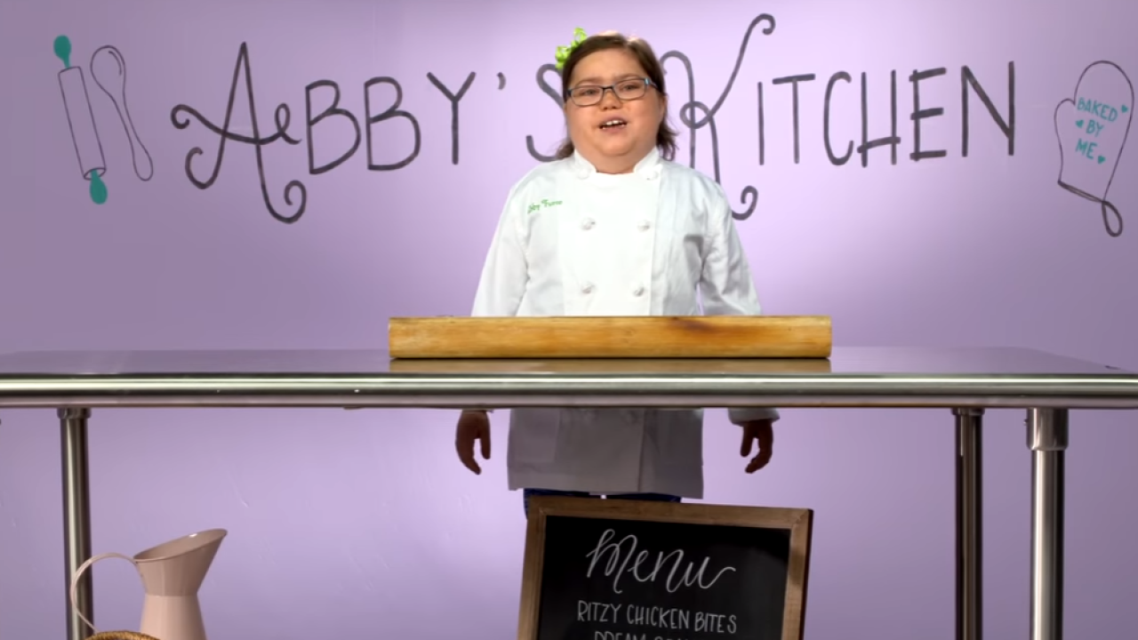 10-year-old Virginia Beach cancer survivor releases episode of her own cooking show