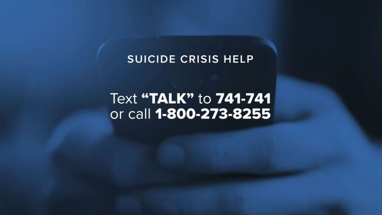 Crisis text and phone lines