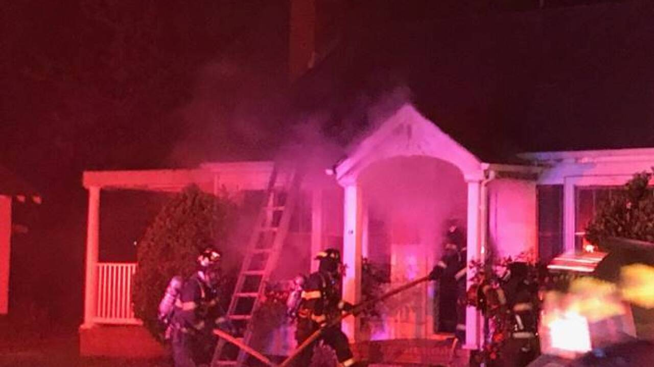 Hampton fire leaves one person in hospital