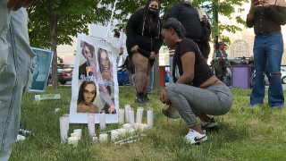 Family, friends gather for vigil to remember transgender woman killed in Baltimore