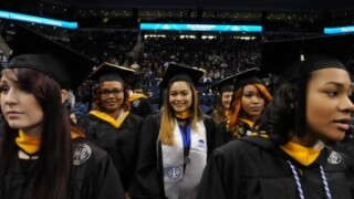 Photos: More than 1,600 degrees awarded at ODU fallcommencement