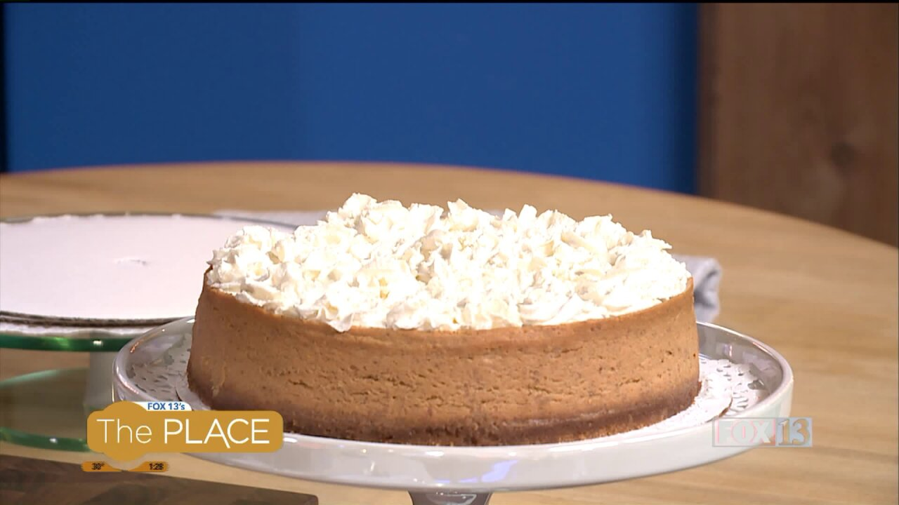 This light pumpkin cheesecake is every bit as good as its high calorie counterpart