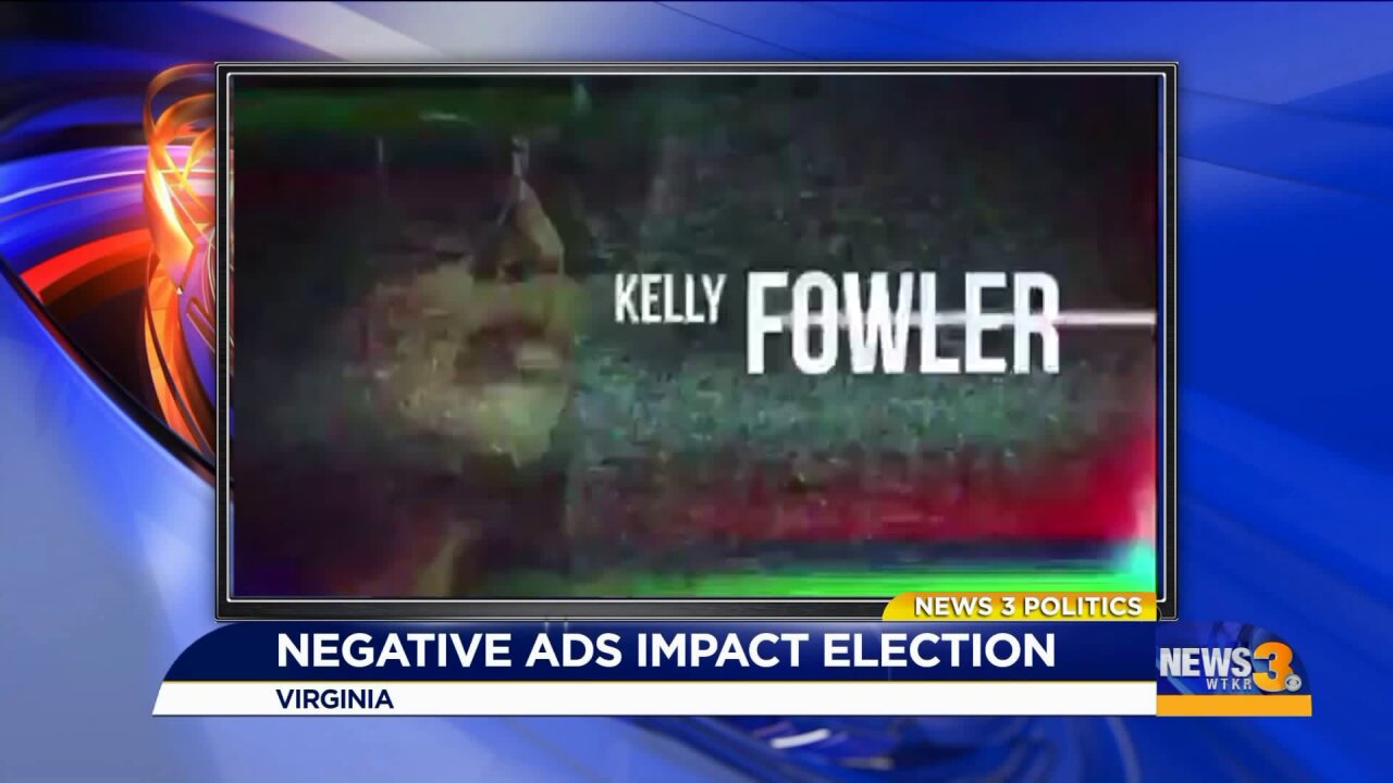 Negative campaign ads are effective, Virginia political analyst says