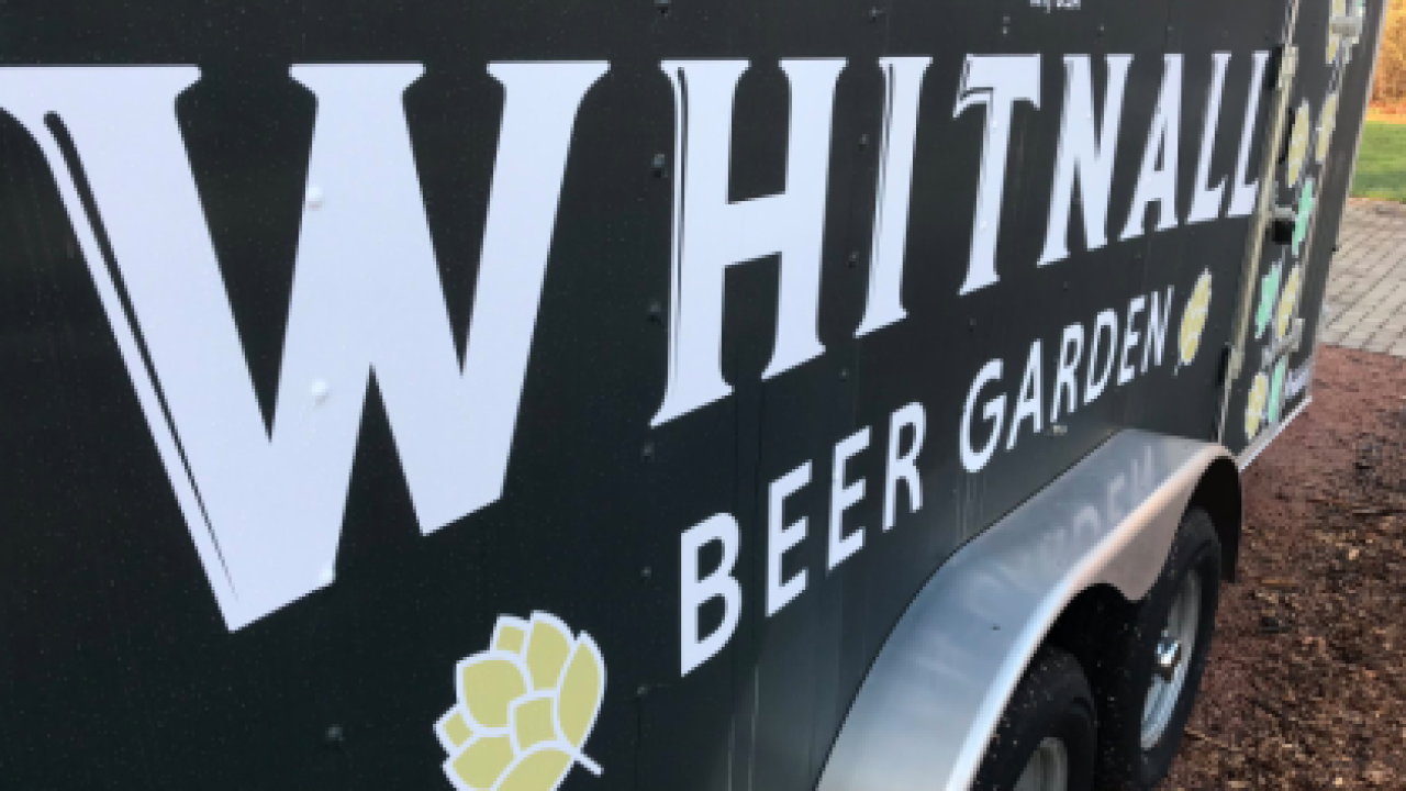 Whitnall Beer Garden trailer