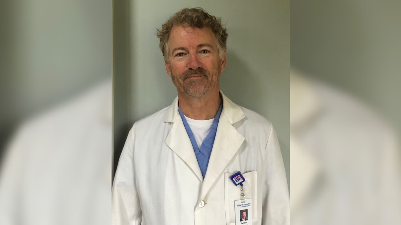 Sen. Rand Paul recovers from coronavirus, volunteers at Kentucky hospital