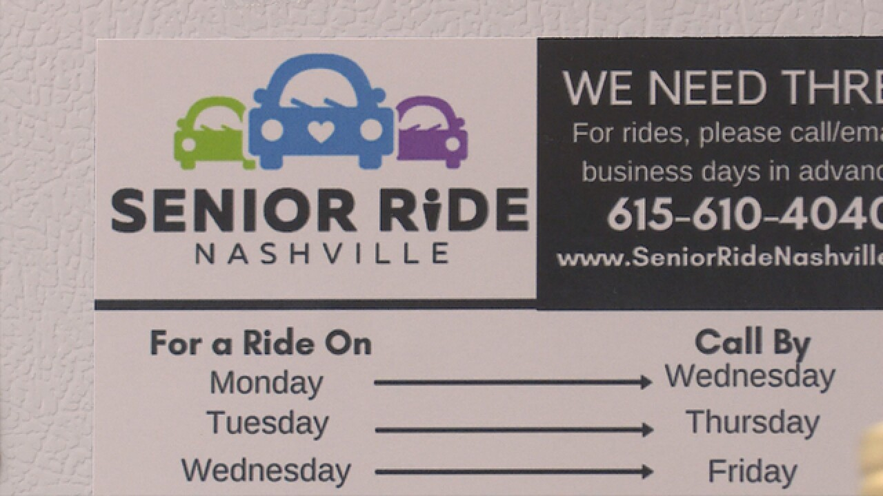 'Senior Ride Nashville' Helping The Homebound With Affordable Rides For The Elderly
