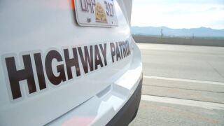 file photo uhp trooper utah highway patrol trooper vehicle on I-15 in Draper car vehicle accident fatal motorcycle crash (2).JPG