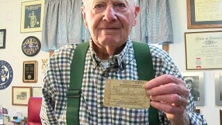 World War II veteran from Brown Co. cheated death twice while in the Navy