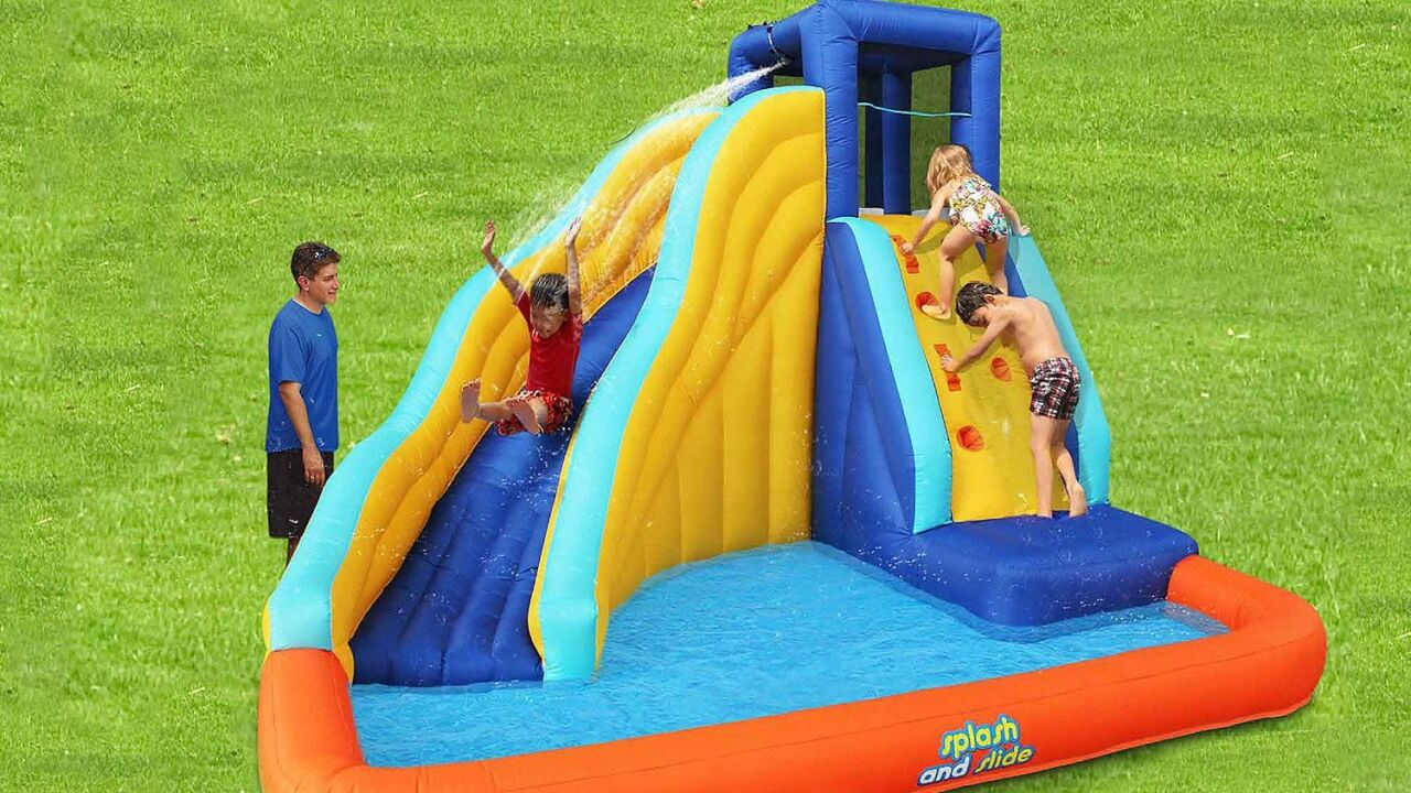 Sam's Club is selling huge inflatable water slides and bounce houses for $199