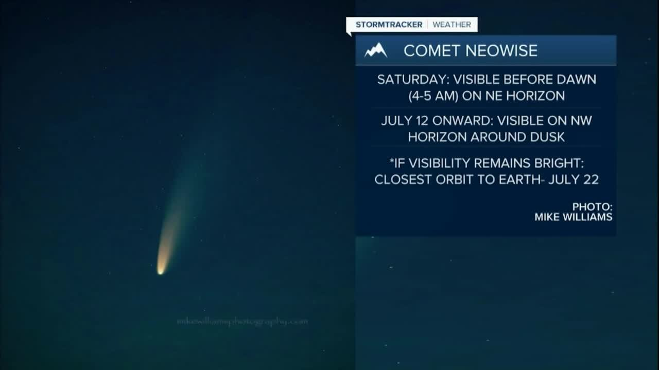 Comet NEOWISE may be visible in Montana skies
