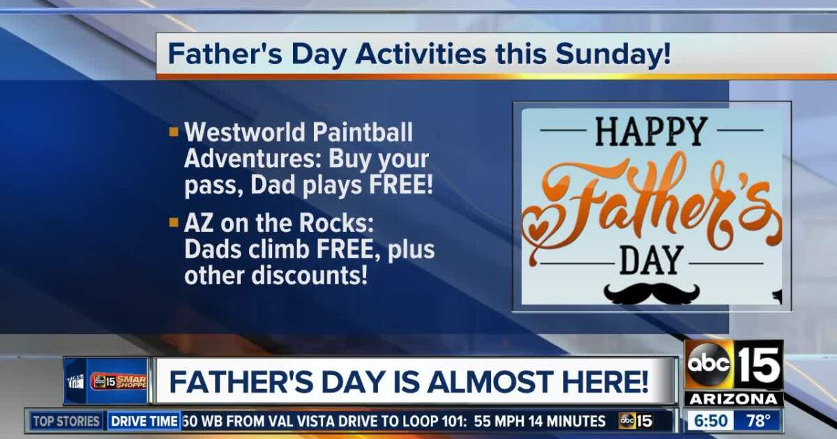 Deals for Dads this weekend!