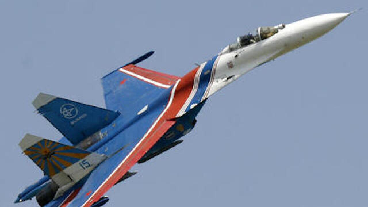 Russian pilot killed in crash