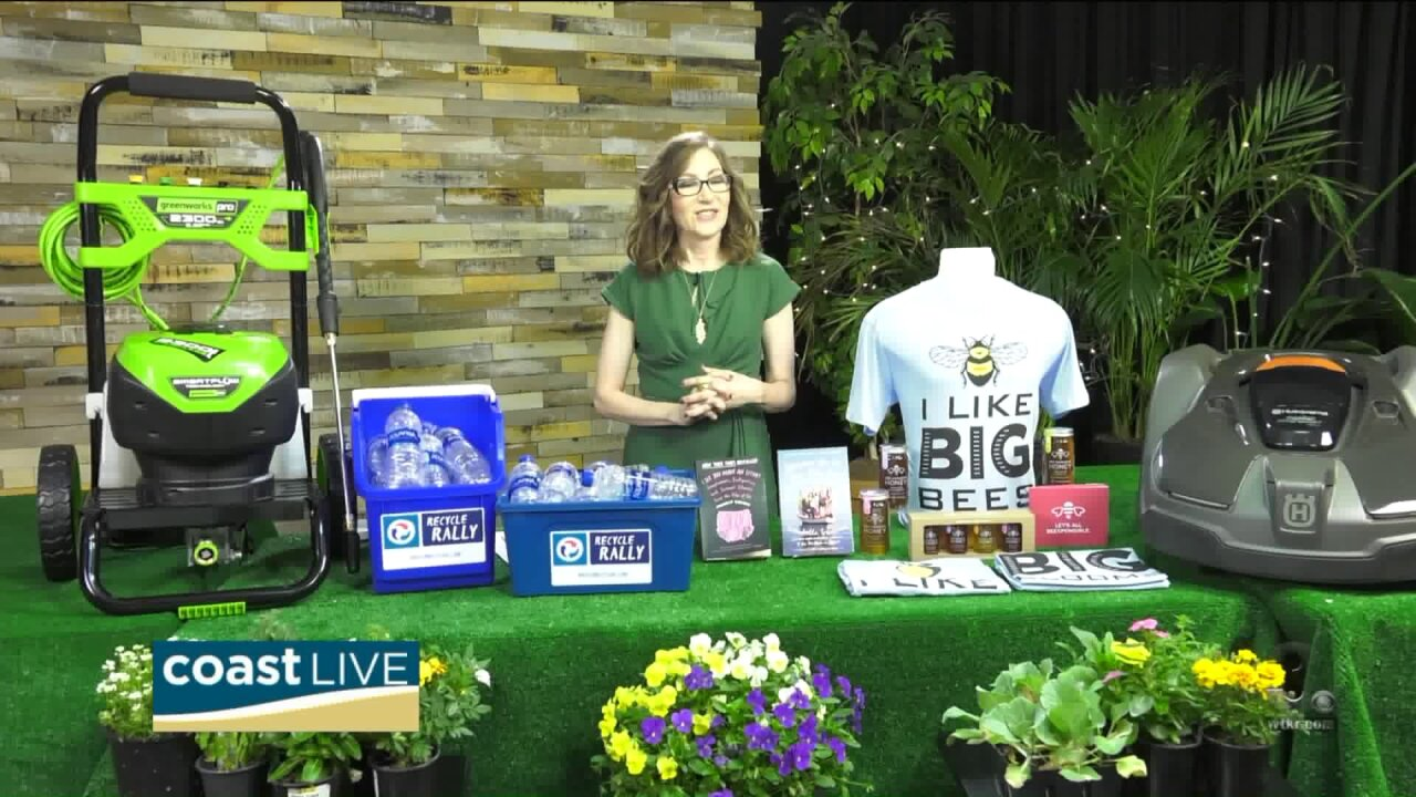 Products for protecting the planet for Earth Day on Coast Live