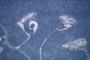 Calwood Fire damage