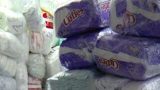 Many Tampa Bay parents can't afford baby diapers