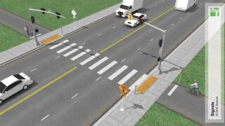 Construction on new pedestrian hybrid crossing to begin this week on San Luis Obispo