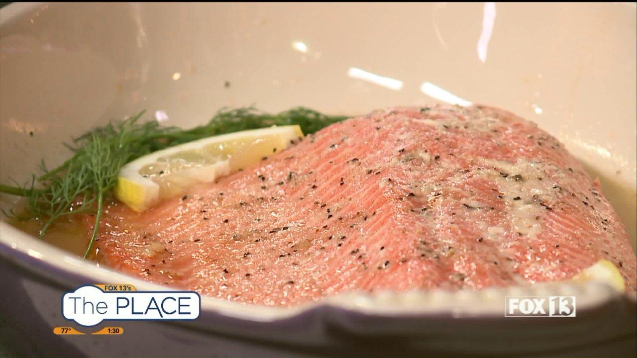 Heart-healthy Baked Maple Glazed Salmon recipe bySelectHealth