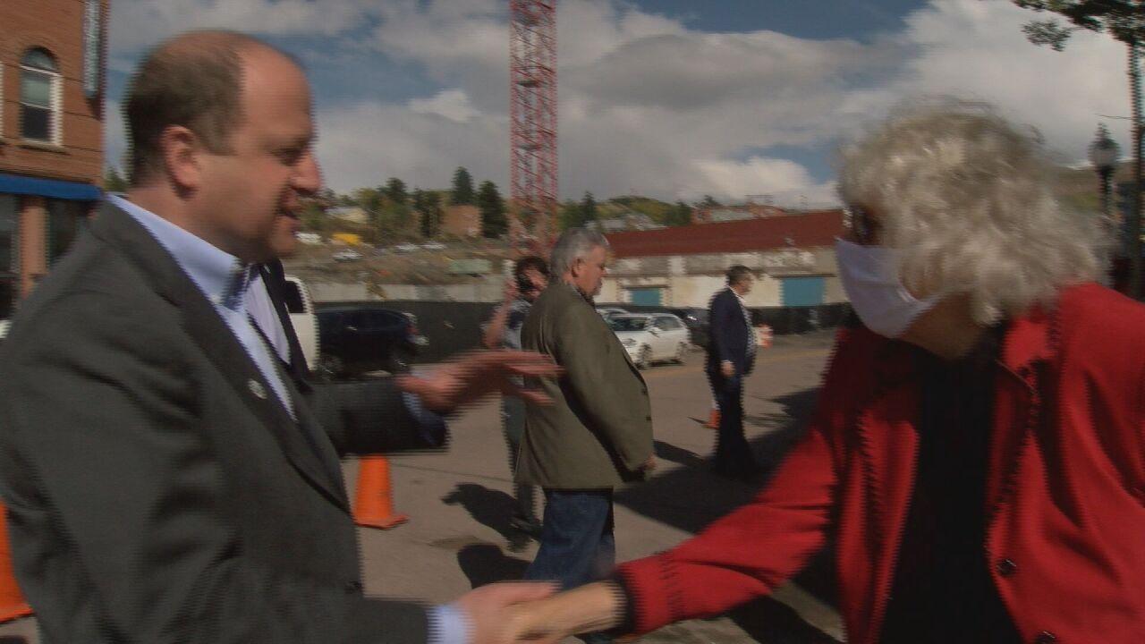 Governor Polis Cripple Creek visit