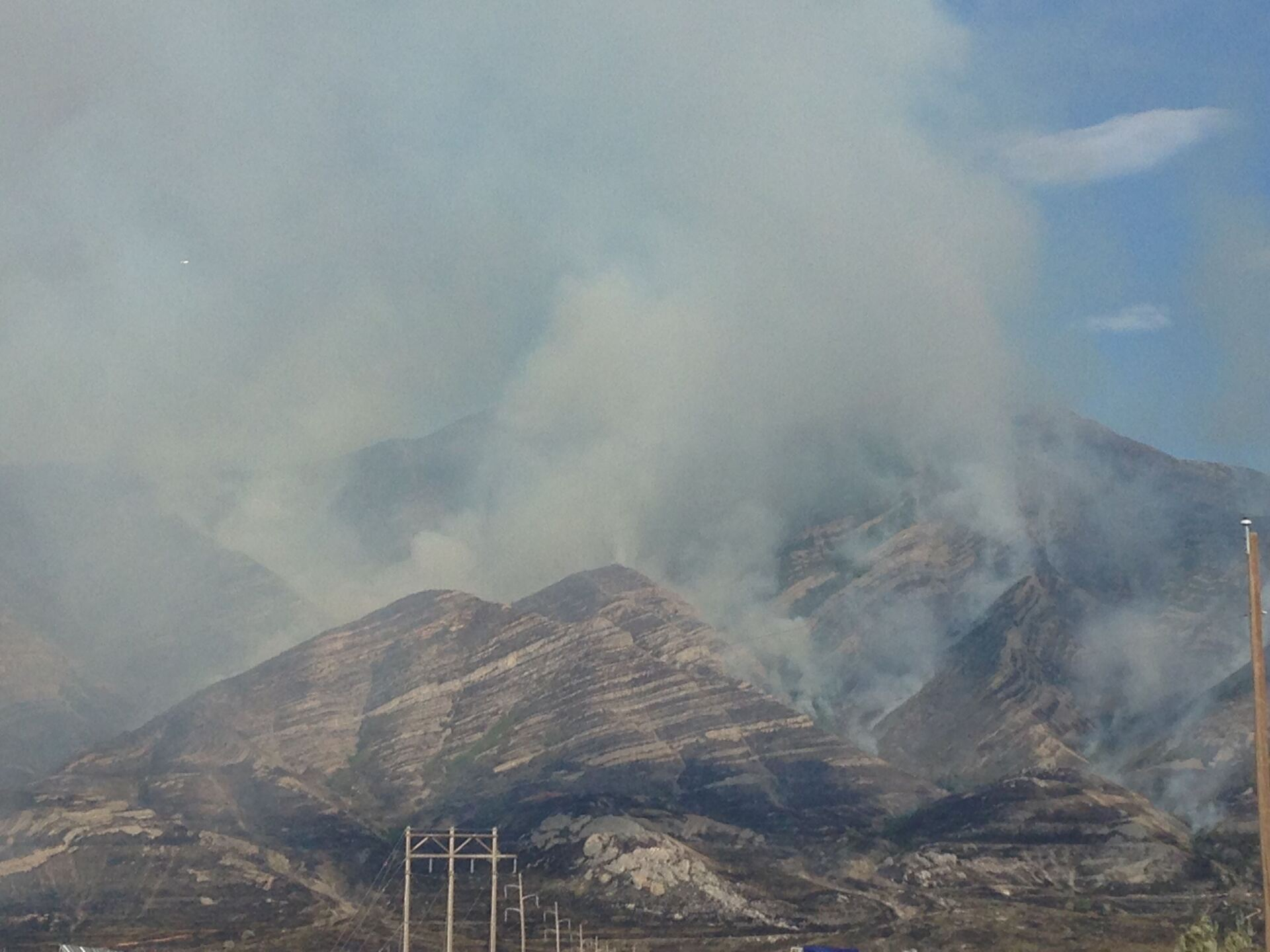 Photos: Fire crews save Tooele Co. neighborhood from close call with 'Green RavineFire'