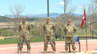 Fort Harrison hosts departure ceremony for three soldiers