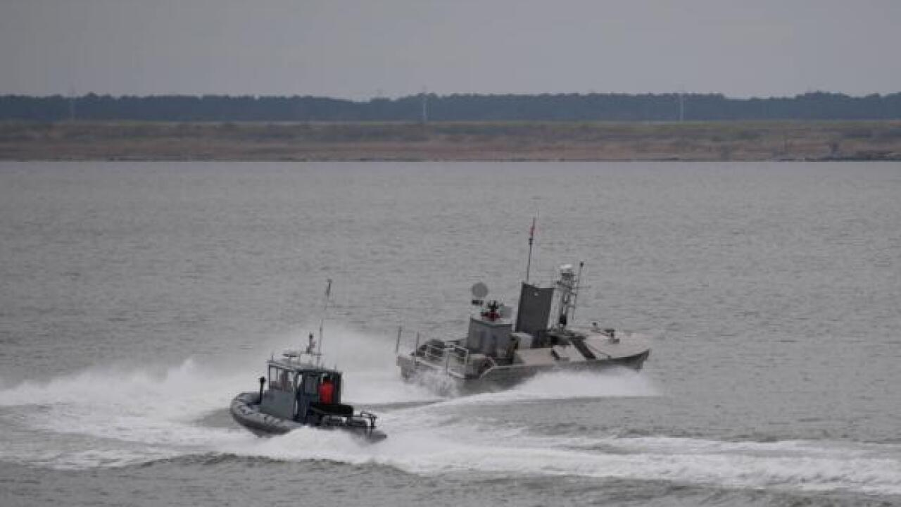 Naval Station Norfolk Security Boats