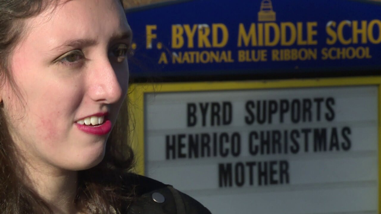 Supporters petition Henrico School Board to change name of Byrd MiddleSchool