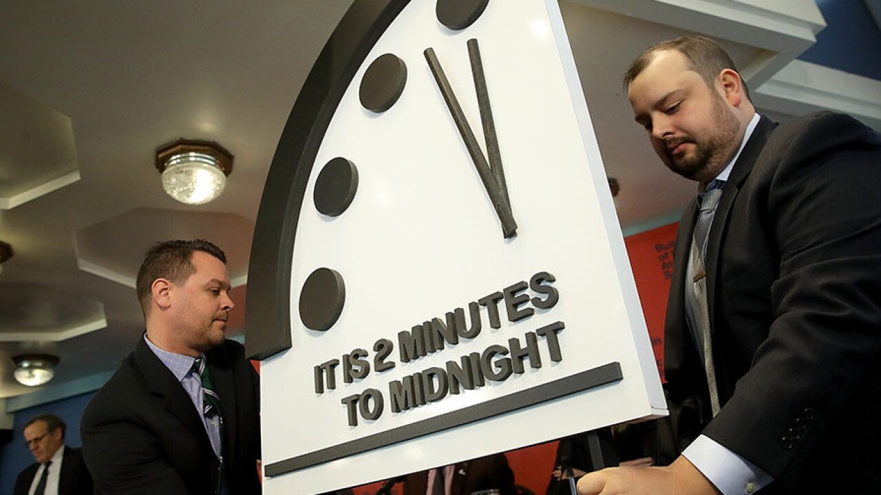 The Doomsday Clock Says It S Almost The End Of The World As We Know It And That S Not Fine