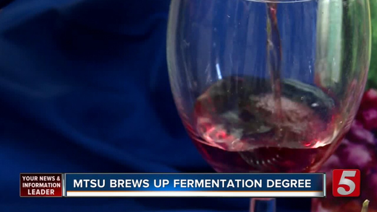 MTSU Offering Fermentation Science Degree