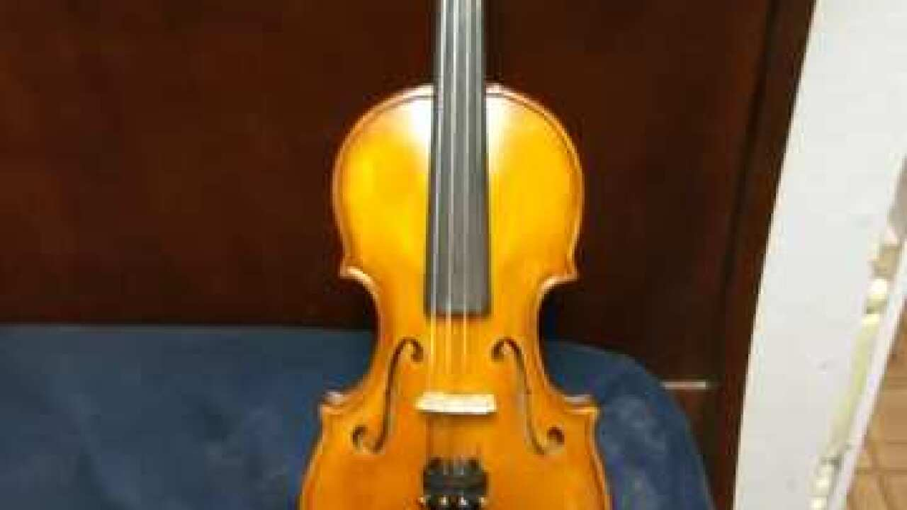 Custom-made musical instruments stolen from shop