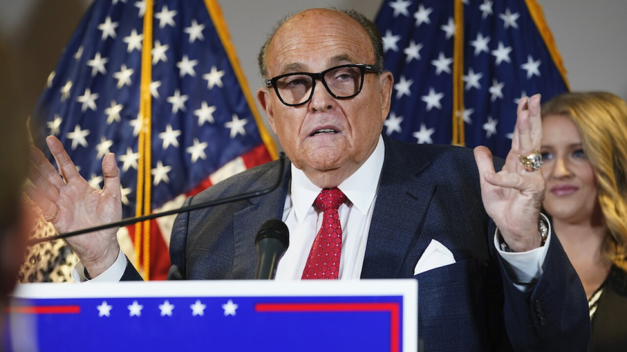 Rudy Giuliani Dominion