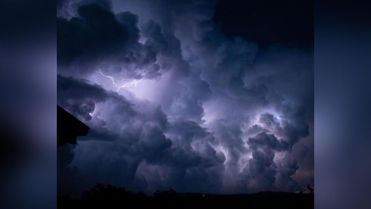 Cotopaxi lightning