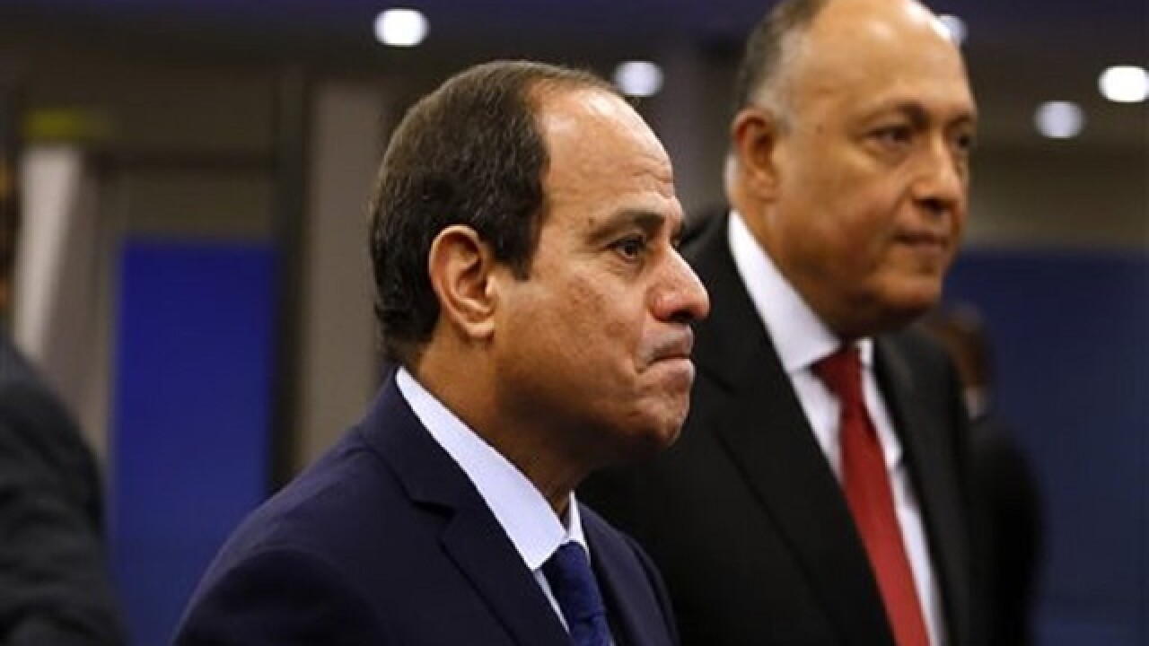 Egypt's president under stinging criticism