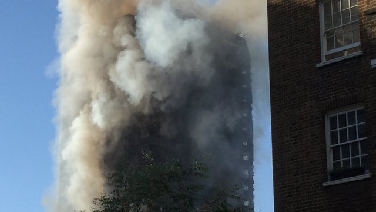 Grenfell Tower blaze: Other London high-rises 'combustible'