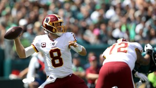 Redskins quarterback Case Keenum will reportedly start Sunday's game against theDolphins