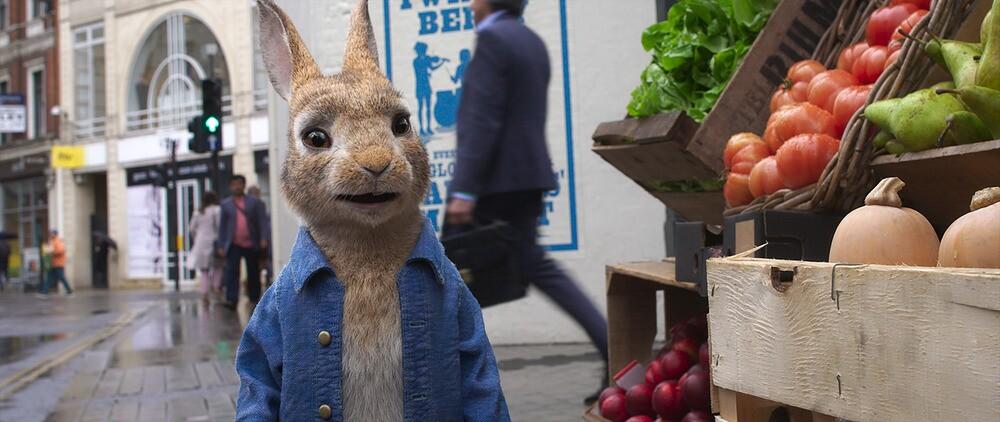 'Peter Rabbit 2: The Runaway' promotional image