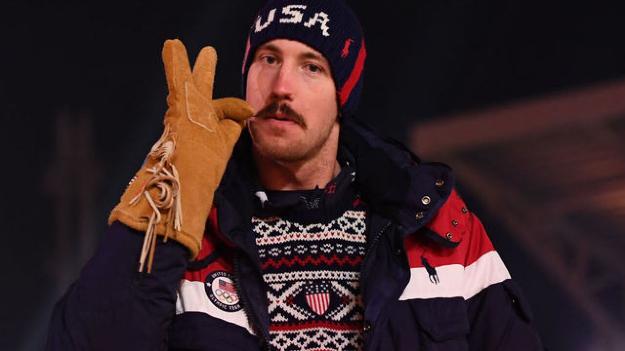 "U.S. Olympic skier gets thumbs up for ""power 'stache"""