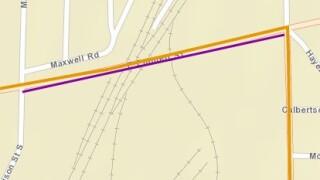 6-1-21 Emmett St Bridge Preventative Maintenance (map).JPG