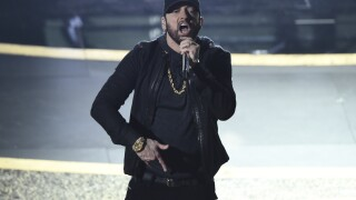 Social media reacts to Eminem's performance at the Oscars