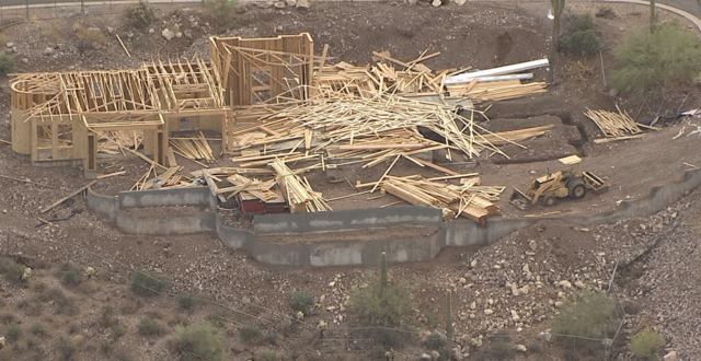 Storm damage in Queen Creek, Gold Canyon (7/11)