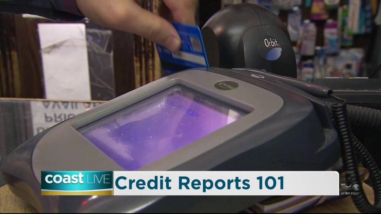 Credit reports and consumer rights on CoastLive