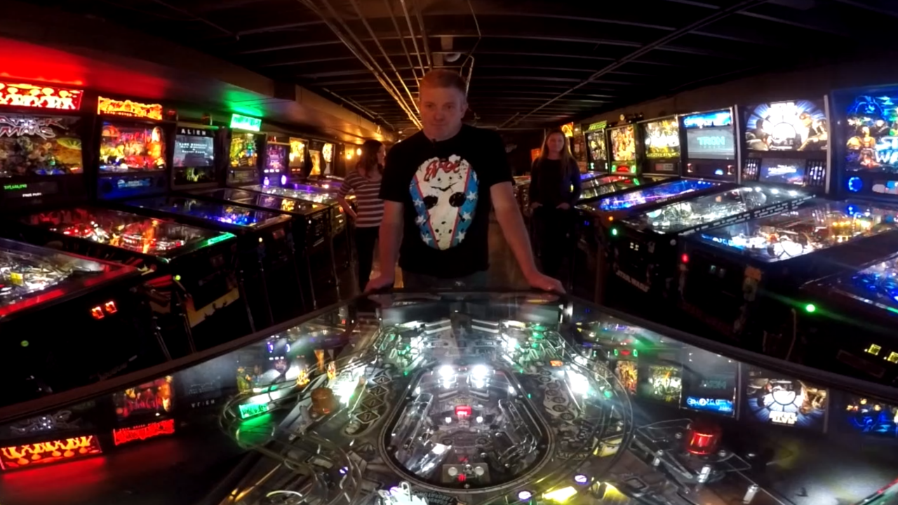 The world of a competitive pinball player