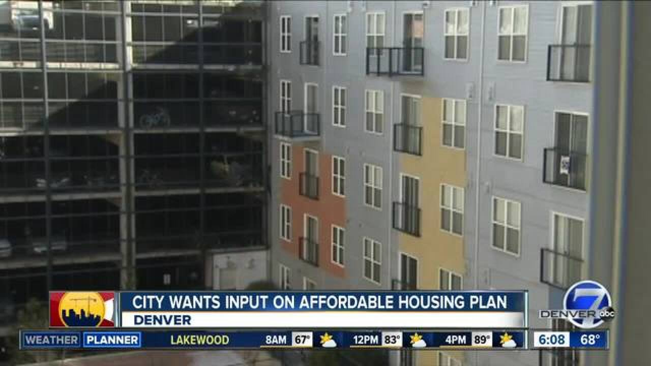 Denver takes critical look at housing crisis