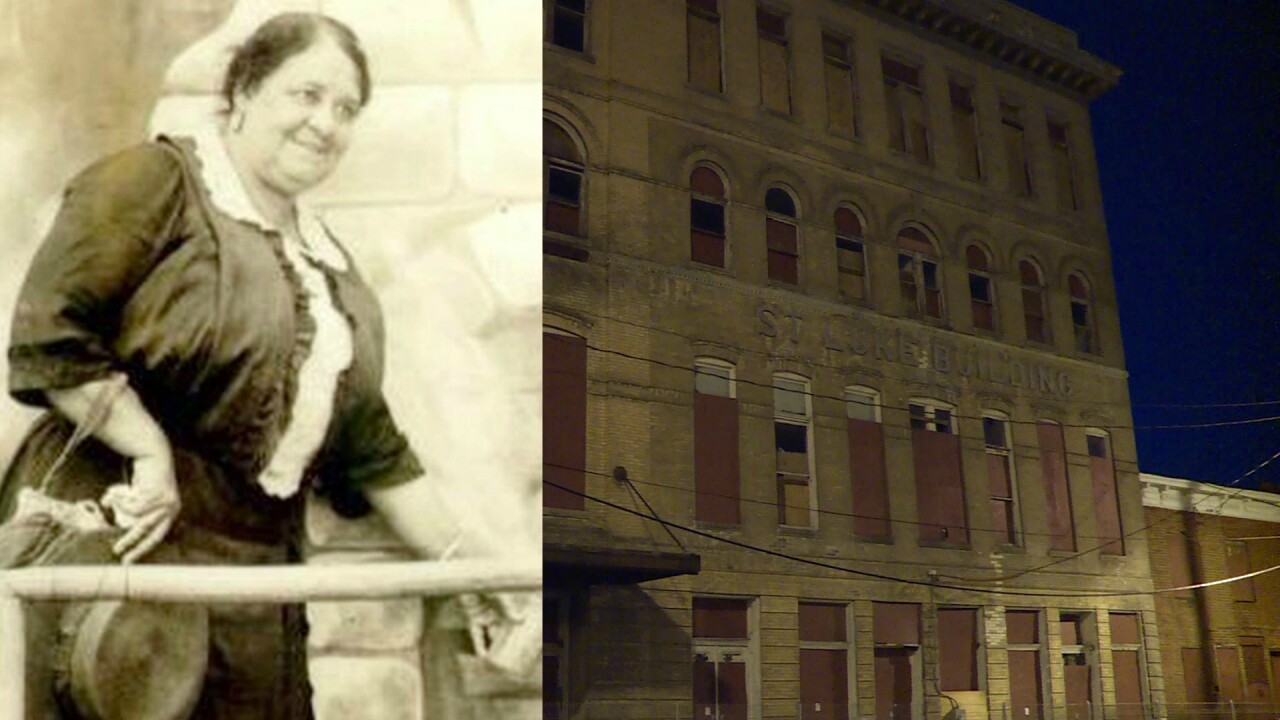 Historic Maggie Walker building now a historiceye-sore