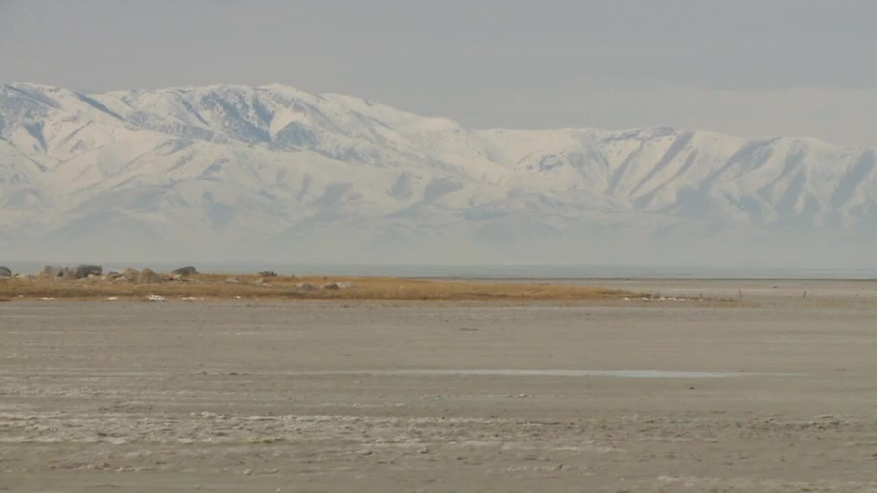 Great Salt Lake bed