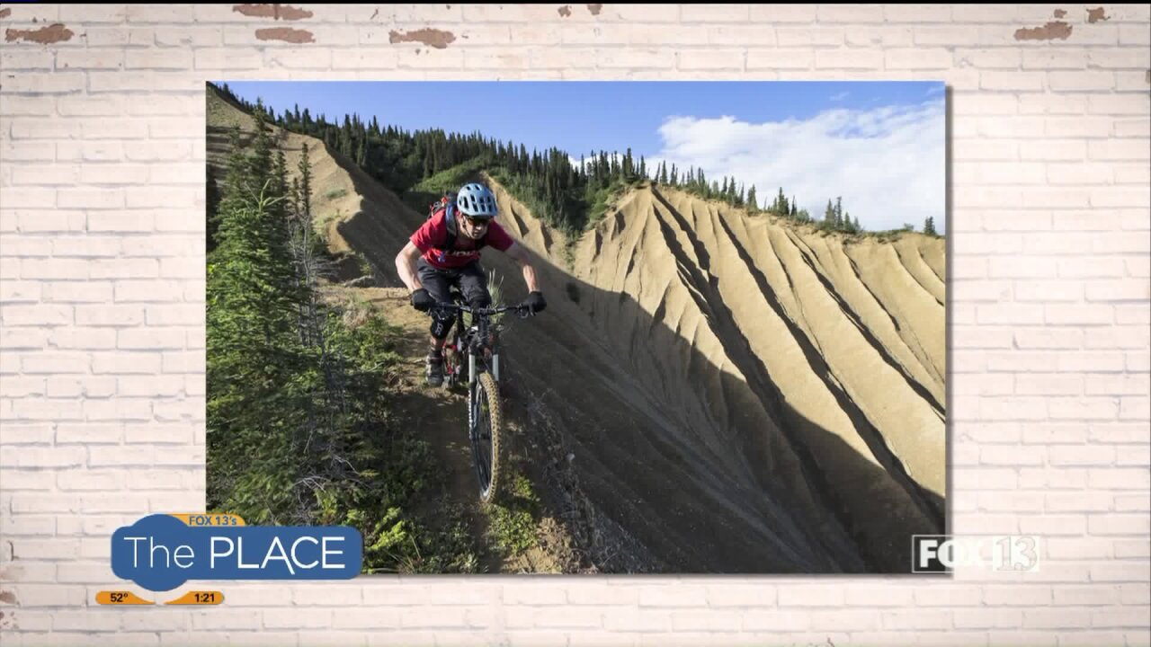 Where you can hear pro mountain-biker Eric Porter speak for free thisweekend