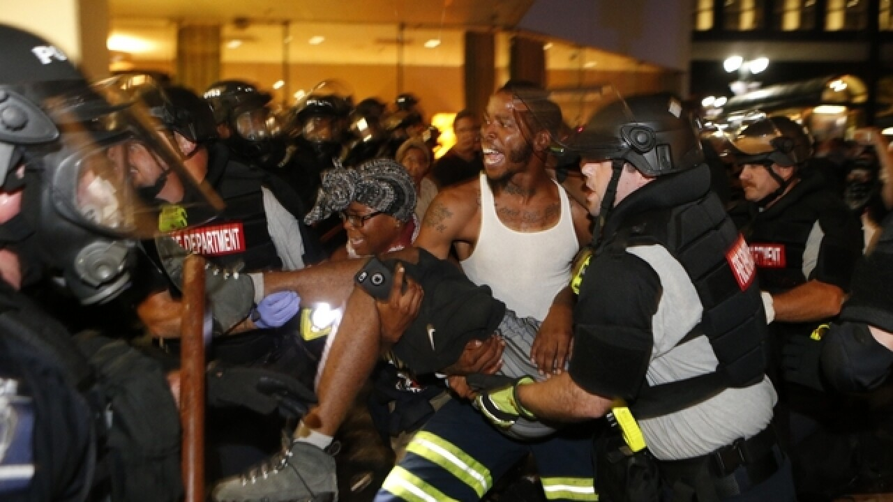Charlotte protestor dies after being shot in the head Wednesday