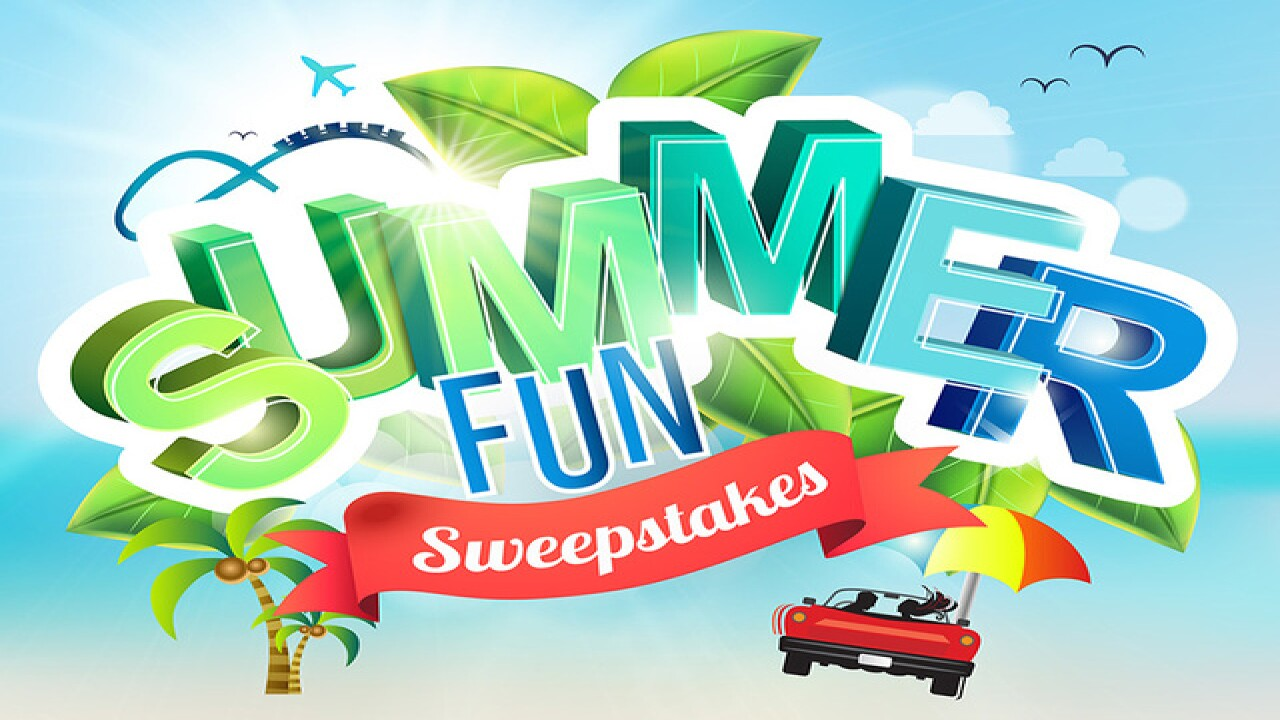 CONTEST: Win a getaway in our Summer Fun Sweepstakes!